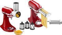 KitchenAid Pasta Cutter & Fresh Prep Attachment Bundle