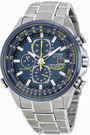 Citizen Eco Drive Blue Angels Chronograph Watch AT8020-54L