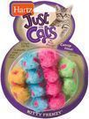 Hartz Just for Cats Kitty Frenzy Cat Toy 12-Pack