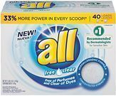 all Powder Laundry Detergent (Sensitive Skin, 52 Ounces)