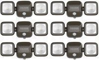 Mr Beams 140-Degree Wireless Outdoor Flood Light (6-Pack)
