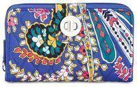 Vera Bradley RFID Turnlock Wallet (Romantic Paisley)