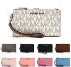 Michael Kors MK Jet Set Travel Wristlet Wallet (15 Colors)