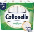 48-Ct Cottonelle Ultra GentleCare Double Roll Toilet Paper