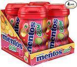 Mentos Sugar-Free Chewing Gum 50-Pc. Bottle 4-Pack
