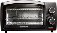 CHEFMAN  4-Slice Toaster Oven Black