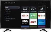 Sharp LC-50LBU591U 50 LED 4K HDTV w/ Roku